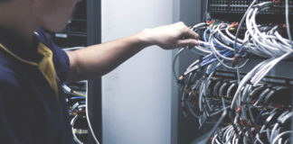 server cabinet
