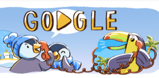 Google's Doodle uk