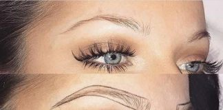 techniques for well shaped eyebrows